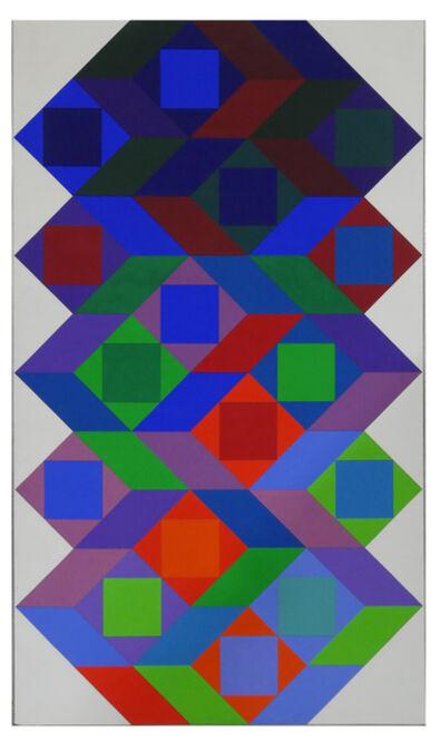 Victor Vasarely, 'Tridim X', 1969