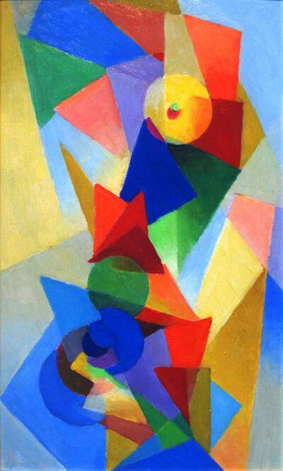 Stanton MacDonald-Wright, 'Non-Objective', 1973