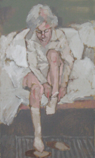 Bruno Bobak, 'White Socks'