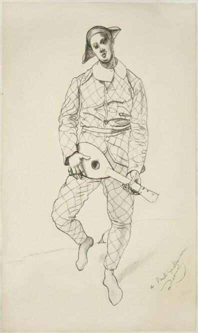 André Derain, 'Harlequin', 1950s