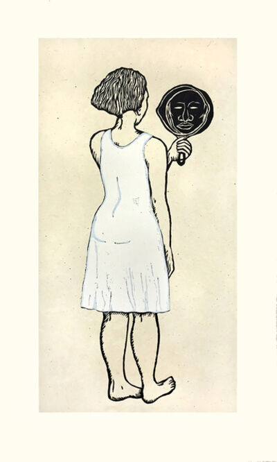 Alison Saar, 'Mirror, Mirror; Mulatta Seeking Inner Negress II', 2015