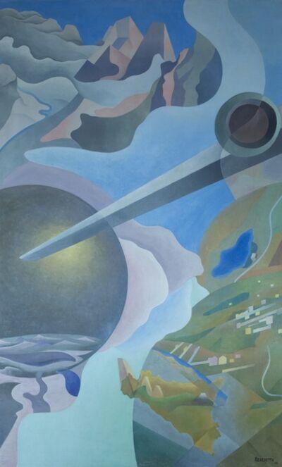 Benedetta (Cappa Marinetti), 'Synthesis of Aerial Communications (Sintesi delle comunicazioni aeree)', 1933-1934