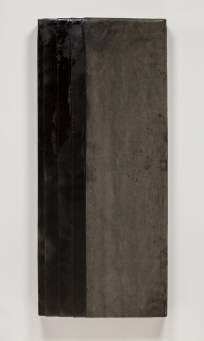 Theaster Gates, 'cool gray study. no flame'