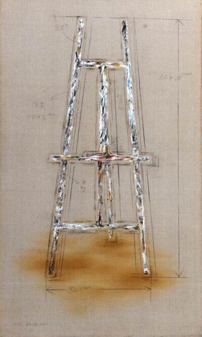 Kulim Kim, 'Easel', 1976