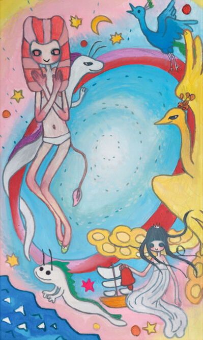 Aya Takano, 'Wheel of Fortune', 2010