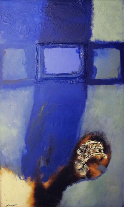 Josep Guinovart, 'Blau del vidre'