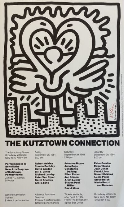 Keith Haring, 'The Kutztown Connection', 1984