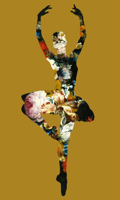 Agent X, 'En Dedans pirouette avec des fleur', 2018