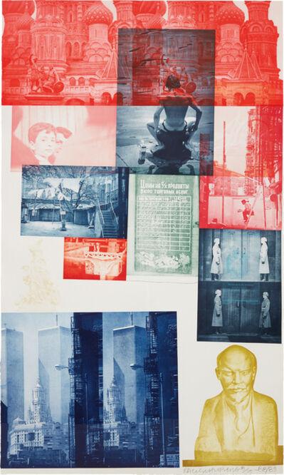 Robert Rauschenberg, 'Soviet American Array #1', 1988-1989