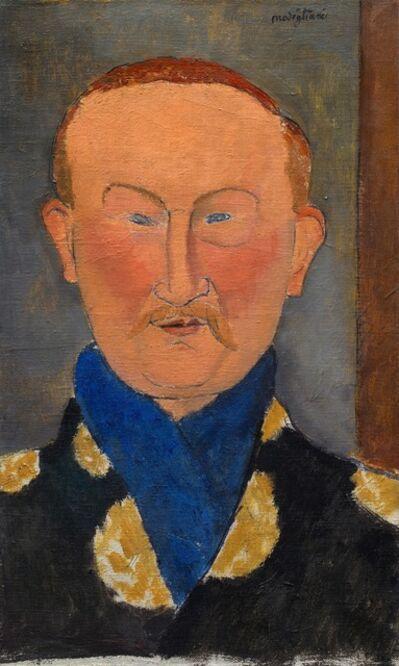 Amedeo Modigliani, 'Léon Bakst', 1917