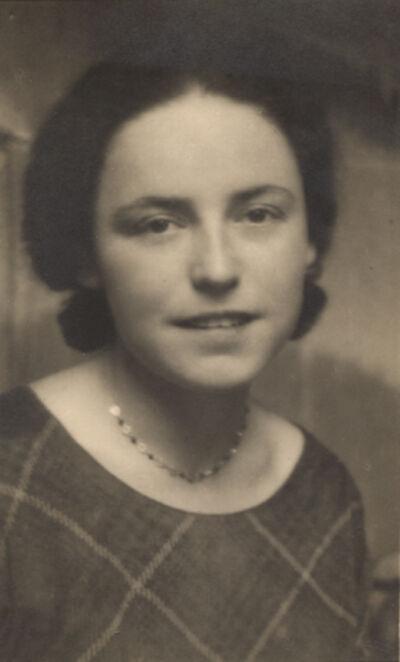 André Kertész, 'Portrait of Eva Révai, Kertész's Lover', 1928c/1928c