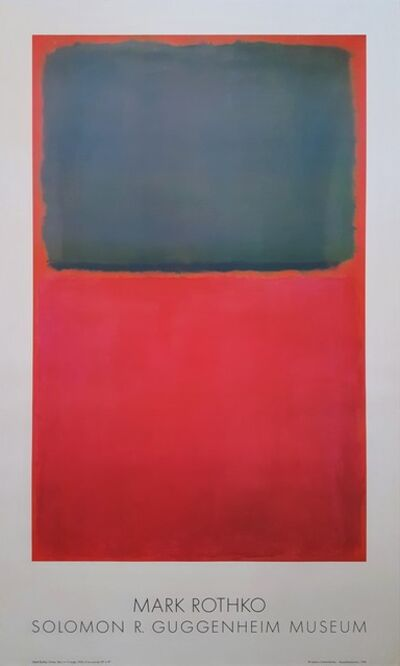 Mark Rothko, 'Green, Red, on Orange', 1978