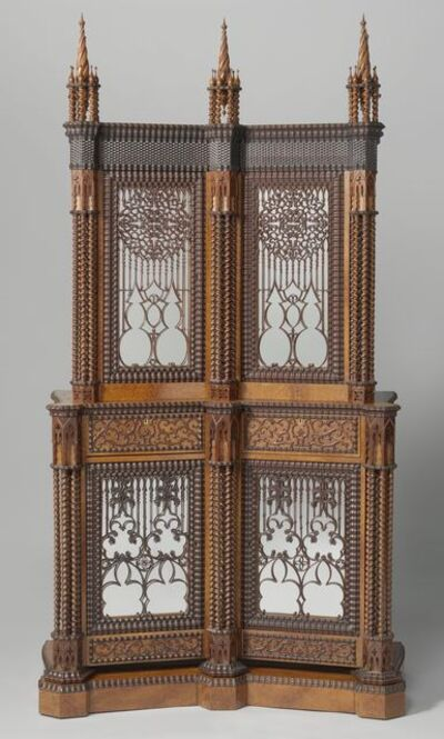Jan Adolf Hillebrand II, 'Silver cabinet', 1844