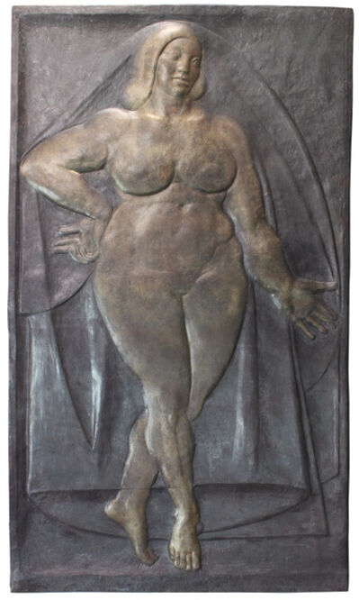 Gaston Lachaise, 'Bas Relief, Woman', 1934