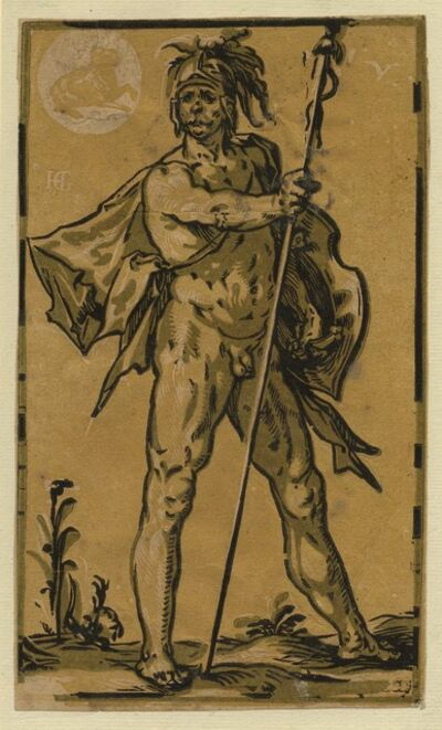 Hendrik Goltzius, ' Mars   ', 1588-1590