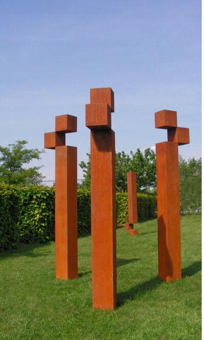 Stephan Siebers, 'CUBE III (Triptychon)', 2013