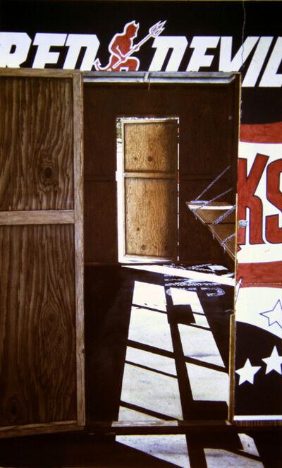 James Torlakson, 'Empty Booth', 1989