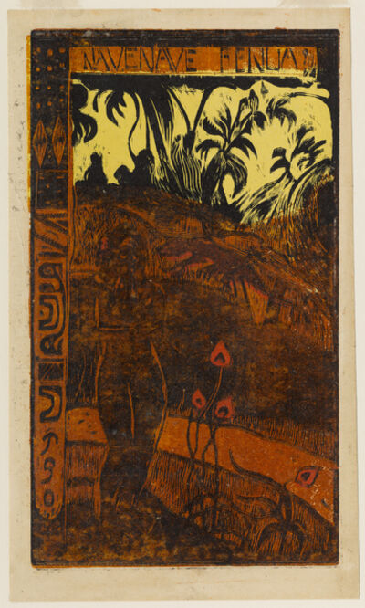 Paul Gauguin, 'Nave Nave Fenua (Delightful Land)', 1894