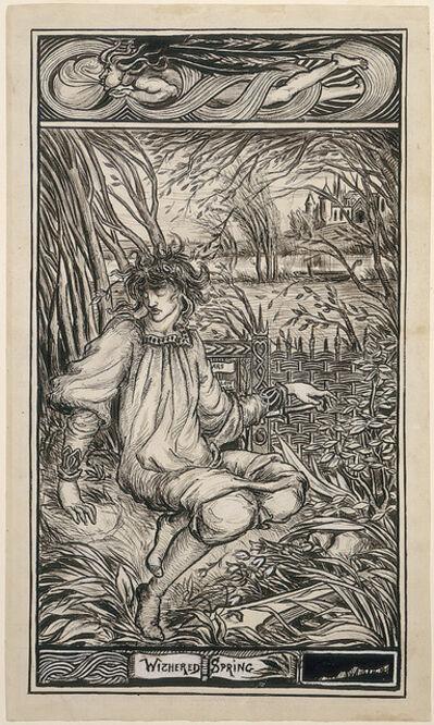 Aubrey Beardsley, 'Withered Spring'