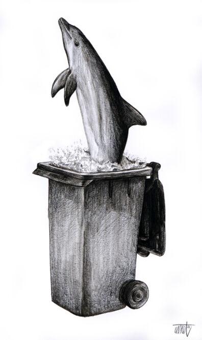 Levalet, 'Nature morte-vivante V', 2021