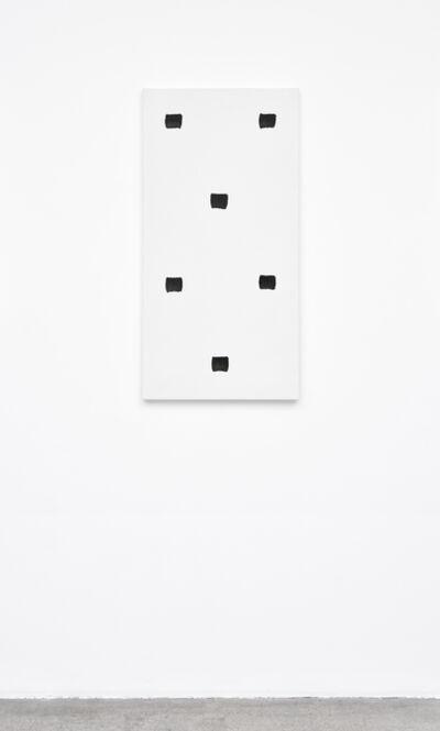 Niele Toroni, 'Empreintes de pinceau N°50 à intervalles réguliers de 30 cm', 2012