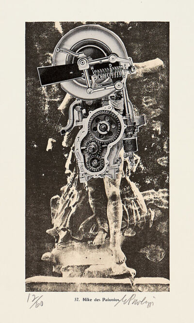 Eduardo Paolozzi, 'Nike de Paionios', 1979
