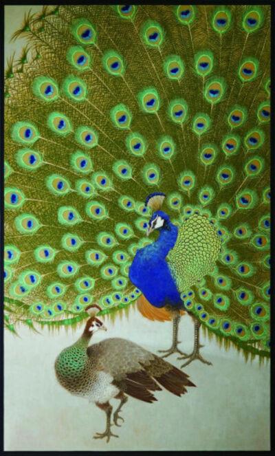 "Nakano Daisuke, 'Peacock, ""Courting"" (Ten Aspects series)', 2012"