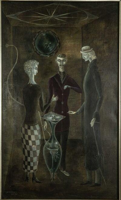 Leonora Carrington, 'Sous la rose des vents', 1955