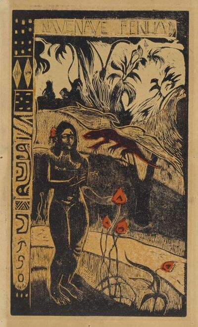 Paul Gauguin, 'Nave Nave Fenua', 1893-94