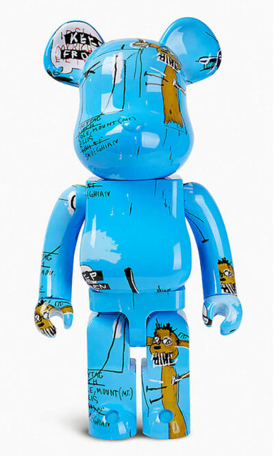 Jean-Michel Basquiat, 'Basquiat Bearbrick 1000% (Basquiat BE@RBRICK)', 2019