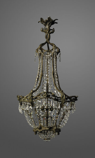 Unknown French, 'An Art Nouveau chandelier', circa 1900