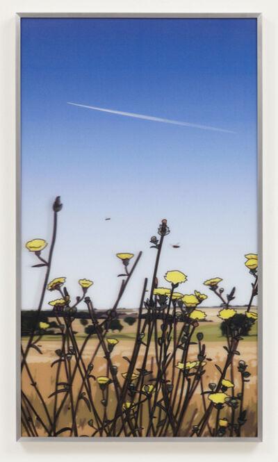 Julian Opie, 'French Landscapes: Jet Stream', 2013