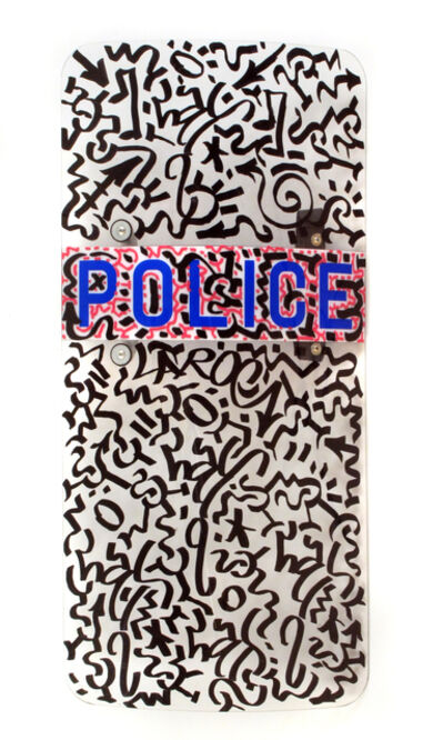 LA II (Angel Oritz), 'Police Shield', 2010