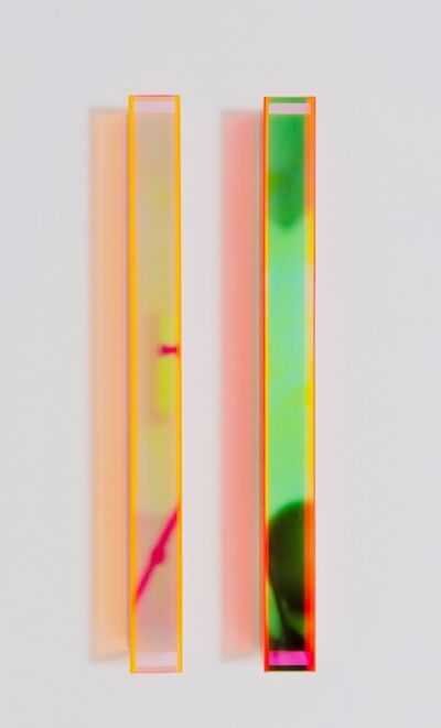 Regine Schumann, 'Colormirror Rainbow Orange Red Cologne', 2019
