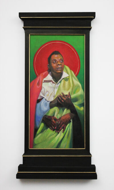 Carl Grauer, 'James Baldwin (Giovanni's Room)', 2019