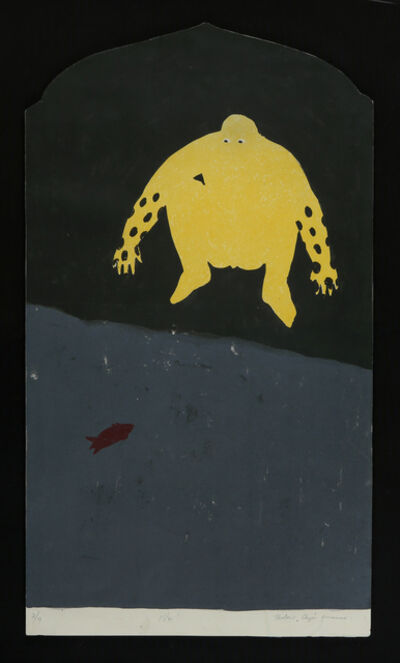 Belkis Ayón, 'Ven!', 1987