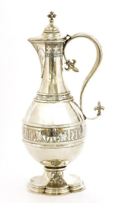 John Keith, 'A silver wine ewer', London 1862