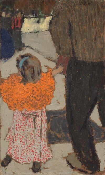Édouard Vuillard, 'Child Wearing a Red Scarf ', ca. 1891