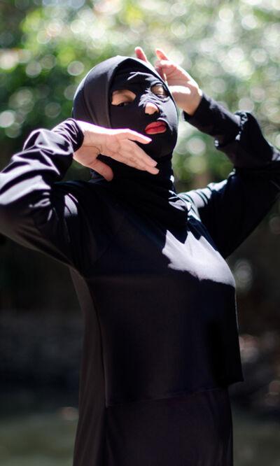 Agan Harahap, 'Mustaqim Swimwear (Black)', 2019