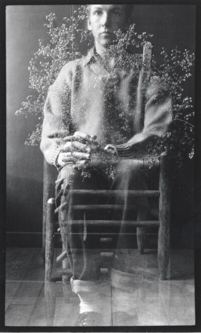 Robert Rauschenberg, 'Postcard Self-Portrait, Black Mountain (I)', 1952