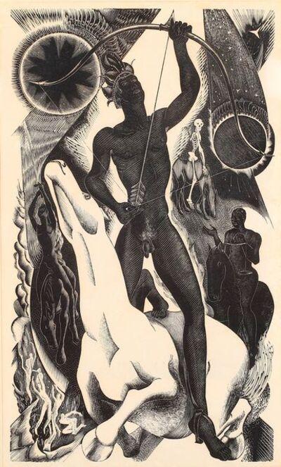 Blair Hughes-Stanton, 'The four horsemen from Revelations of St John'