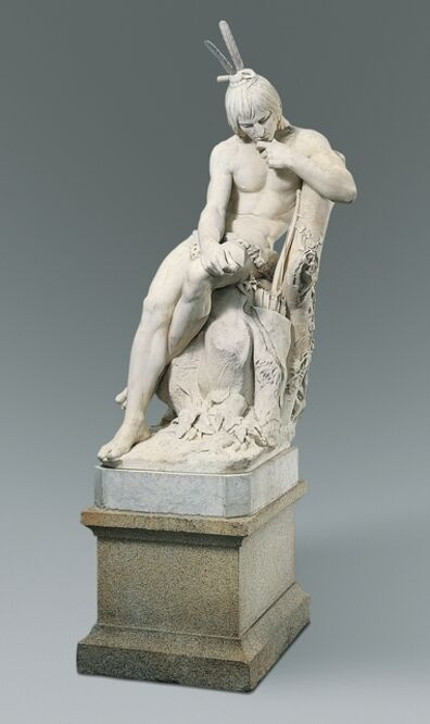 Augustus Saint-Gaudens, 'Hiawatha', 1871–1874