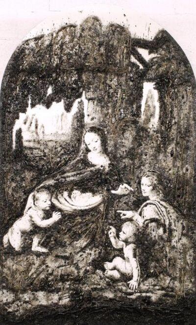 Enzo Fiore, 'Appropriazione - Vergine delle rocce', 2011