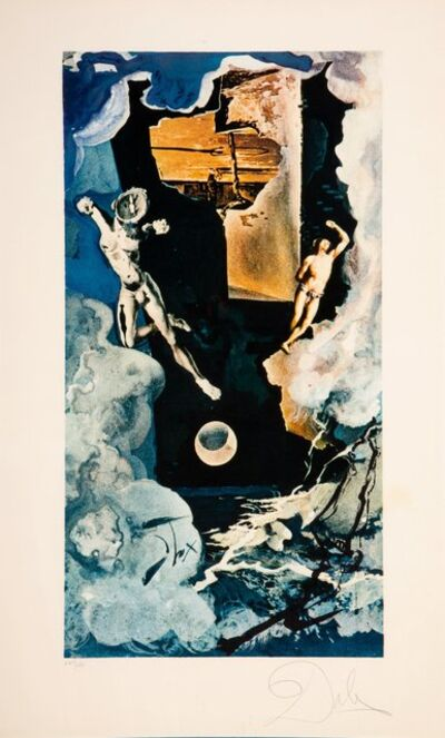 Salvador Dalí, 'The tower, from Lyle Stuart Tarot Prints', 1978