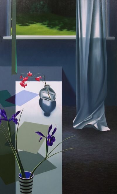 Bruce Cohen, 'Interior with Iris and Sweet Peas', 2020