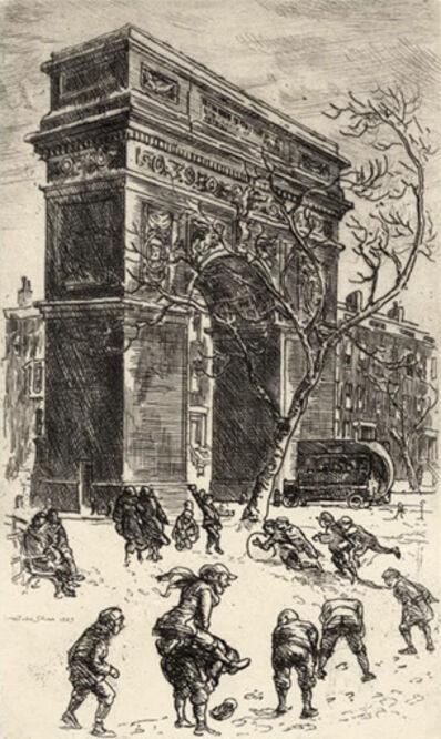 John Sloan, 'Washington Arch', 1923