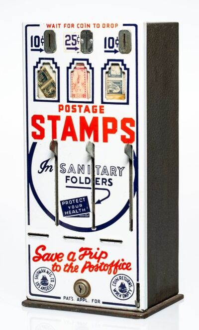 Robert Watts, 'Stamp Machine and Stamps, from The American Supermarket', 1962