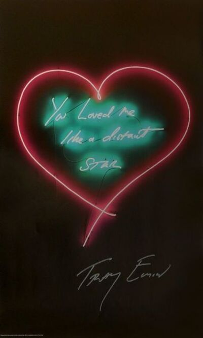Tracey Emin, 'You Loved me like a distant Star', 2012