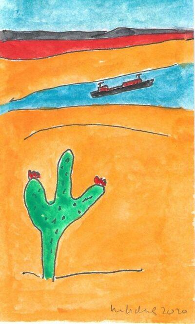 Elizabeth Enders, 'Cactus & Boat', 2020