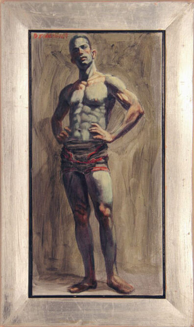 Mark Beard, '[Bruce Sargeant (1898-1938)] Wrestler in Singlet', n.d.